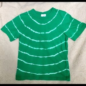 Hanna Andersson Green tie dye T-shirt size 12-15